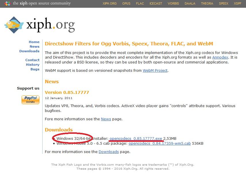 xiph.org