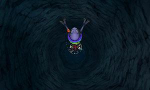 DQMJ3P_仄暗い穴の底へ