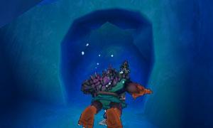 DQMJ3P水中の穴を潜り抜ける