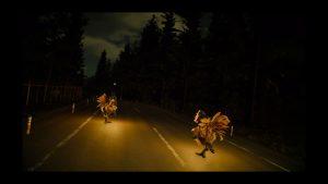 FF15_夜道でチョコボ