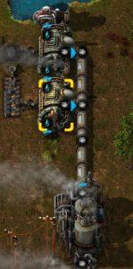 Factorioボイラーの変化