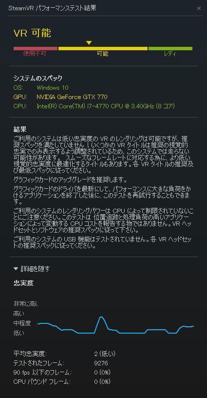 SteamVR PT1