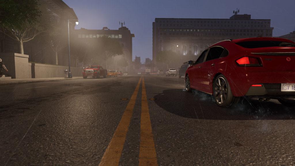 WD2-赤い車