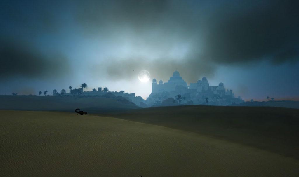 黒い砂漠夜のバレンシア