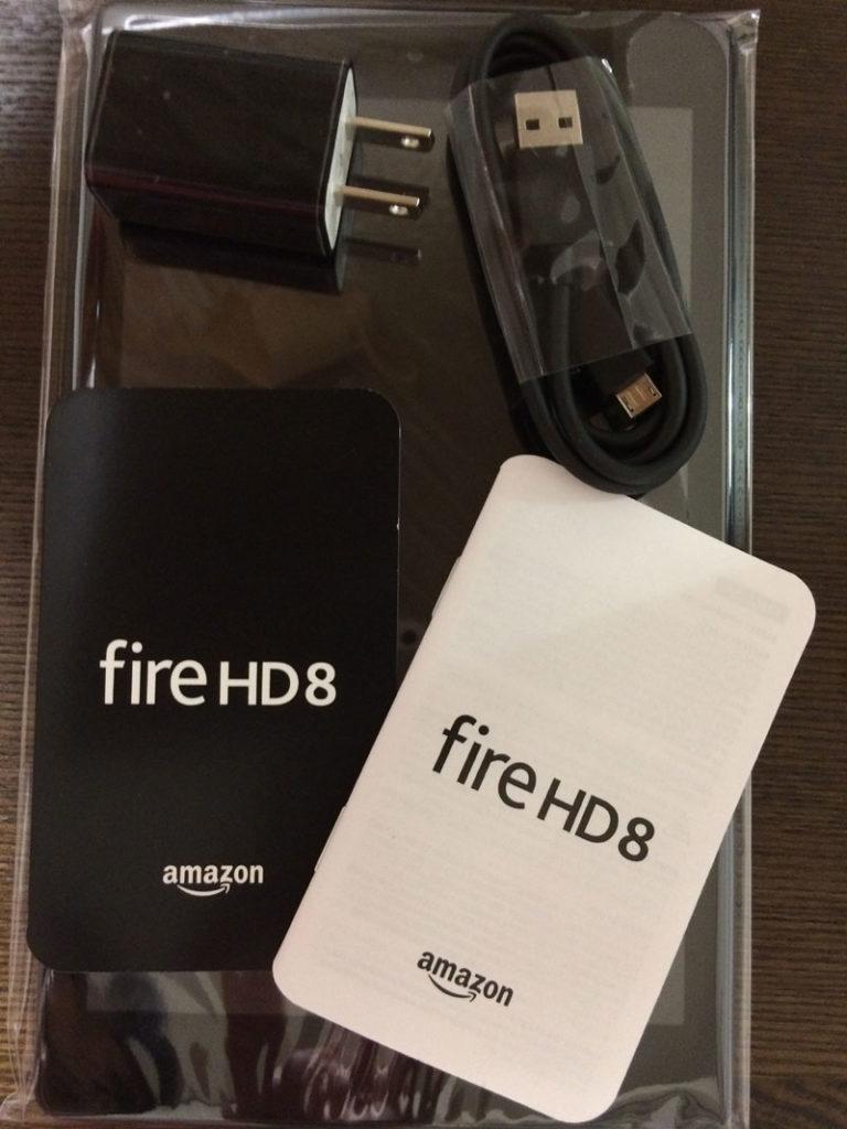 FireHD8付属品