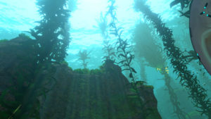 Subnautica海底から見上げて