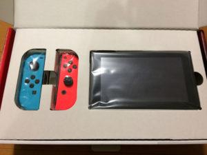 NintendoSwitch購入開封