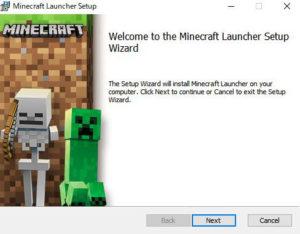 Minecraftインストール1