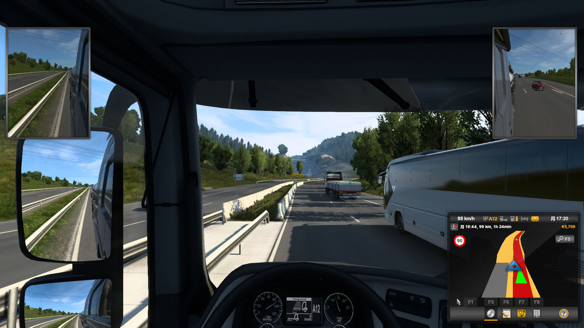 ETS2高速道路